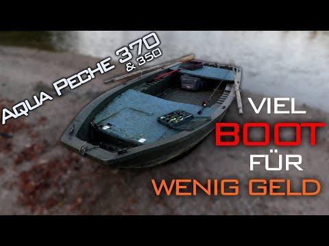BassBoat für alle #1 | VIEL Boot für WENIG Geld - Rigiflex Aqua Peche 370 & 350 Review