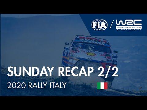 WRC ラリー・イタリア・サルディニア 日曜日に行われたラリーダイジェスト動画2