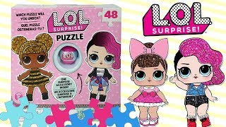 LOL Surprise • Mini Kula & Puzzle • zabawa z LOL Surprise