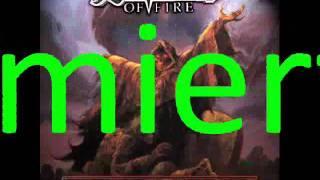 Rhapsody - Rise From The Sea Of Flames - polskie tłumaczenie