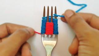 6 Wonderful Flower Crafts Ideas with woolen yarn || woolen thread flowers