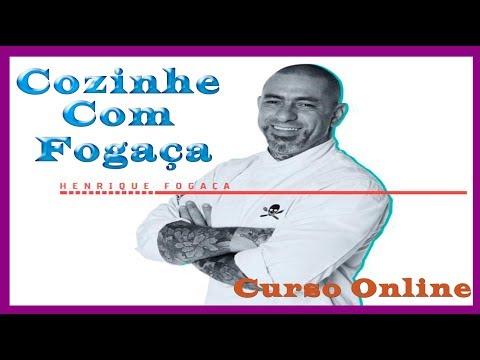 Cozinhe Com Fogaça - Curso Completo em Vídeo Aulas