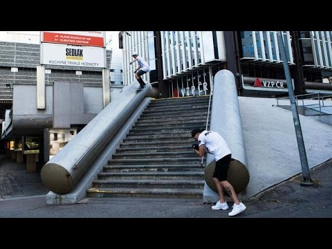 Street Sessions and Good Times in Prague | Skate of Mind