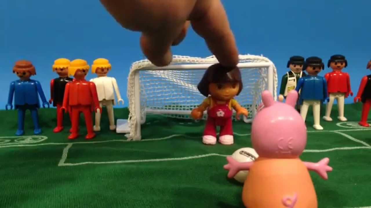 Peppa Pig y la tanda de penaltis.