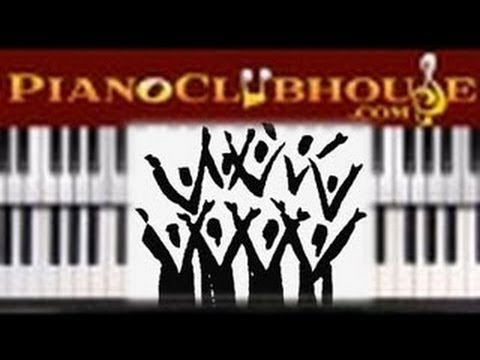 ♫ Easy Gospel Piano Worship Groove in key of
