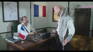 النمس يطلب من أبو جودة رخصة المخفر 😂🤣😂 باب الحارة ٧ ، مصطفى الخاني ، زهير رمضان