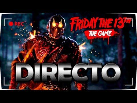 DIRECTO - LIVE - FRIDAY THE 13th: THE GAME | JASON 5 o ROY | NUEVA DLC