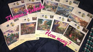 Every Thomas Kinkade Disney Cross Stitch Kit