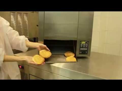 video 1, Toaster convoyeur professionnel 1200 Pains/Heure
