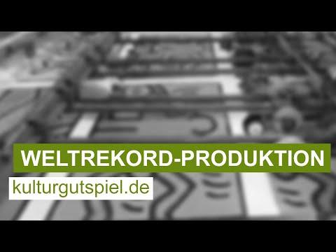 Produktion ♦ So entsteht das größte Puzzle der Welt ♦ Keith Haring: Double Retrospect