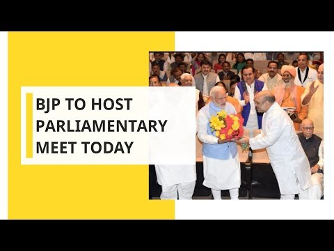 BJP-led NDA to host Parliamentary party today at the Central Hall of Parliament