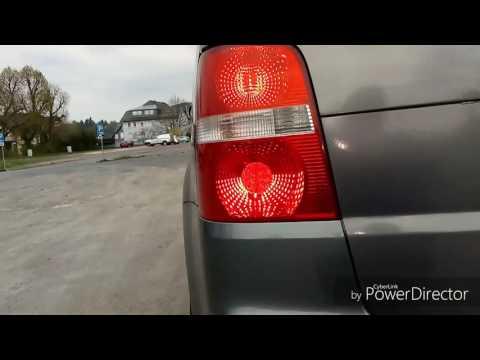 Versteckte Funktionen im VW Touran wie Coming Home Light und Tagfahrlicht Teil 1