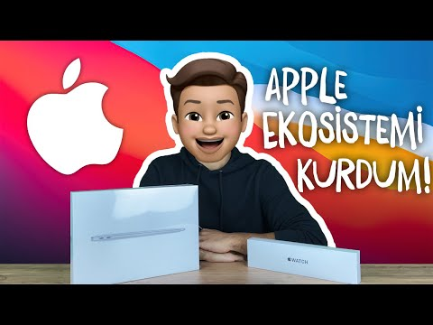 APPLE EKOSİSTEMİ KURDUM! - MACBOOK AİR VE APPLE WATCH SE KUTU AÇILIMI
