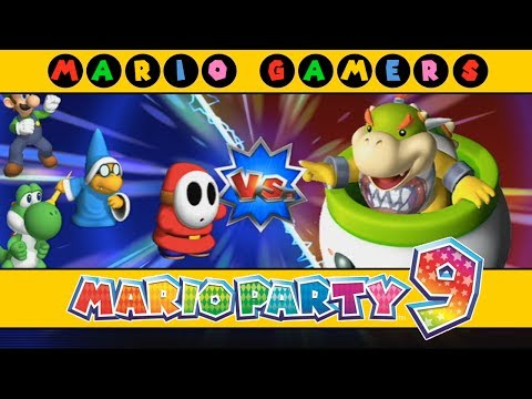 Mario Party 9 Bowser Station Party 10 Player Master Difficult