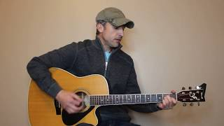 The Chair - George Strait - Guitar Lesson   Tutorial