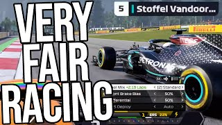 The F1 Virtual GP Was Full Of COMPLETELY FAIR Racing