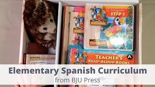 Elementary Spanish from BJU Press