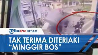 Video Detik-detik Pemuda Dikeroyok Pesepeda di Mojokerto, Tak Terima Diteriaki