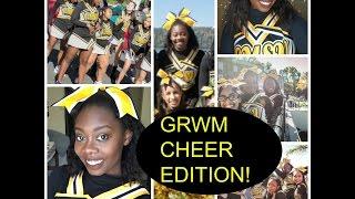 Cheer GRWM! College Cheerleading Makeup Routine