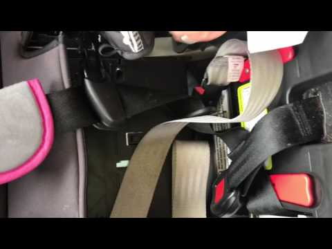 How to install Graco Car Seat Forward Facing
