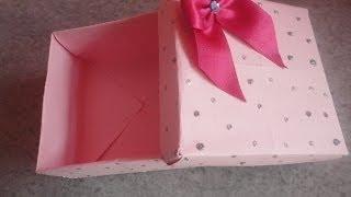 Faça Você Mesma: Caixa De Presente