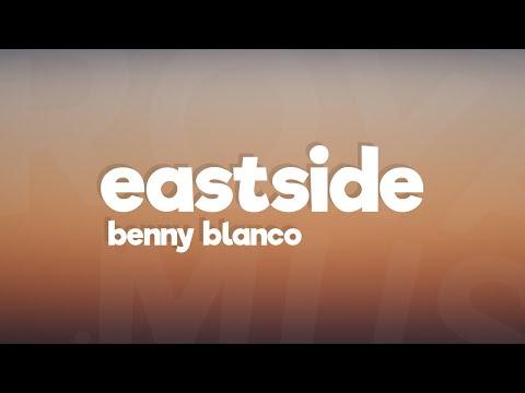 , title : 'Benny Blanco, Khalid, Halsey - Eastside (Lyrics)'