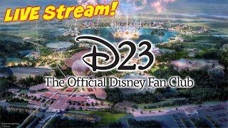 D23 Live Stream - Sneak Peak! Disney Parks, Experiences and Products