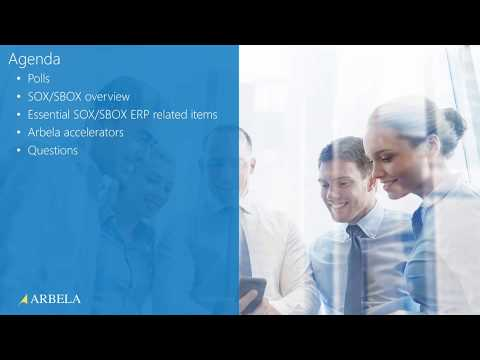 Essentials for SOX Compliance in ERP - YouTube