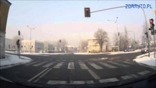 preview picture of video 'Trasa egzaminacyjna PRAWO JAZDY - Częstochowa: Olsztyńska / Legionów'