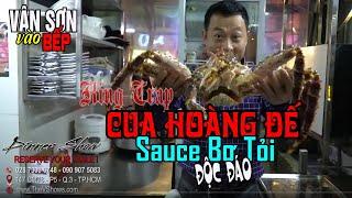 Vân Sơn Vào Bếp | Cua Hoàng Đế King Crab Là Ngon Nhất