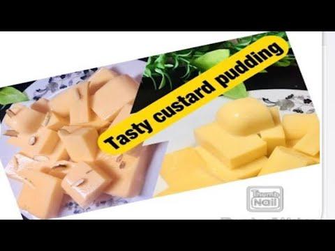 Pudding // custard pudding