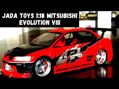 Jada Toys 1:18 Mitsubishi Evolution VIII Review