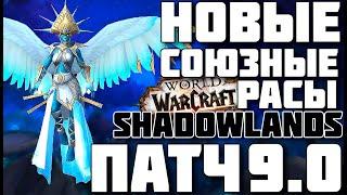 ????(Cпойлеры) Новые союзные расы в Тёмных землях ????WOW Shadowlands патч 9.0???? фото