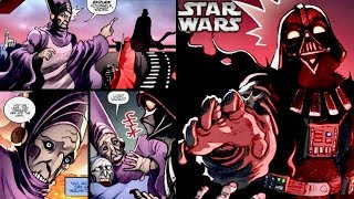 How Vader's Wrath Drove Palpatine's Imperial Advisor to Madness on Mustafar! (Canon)