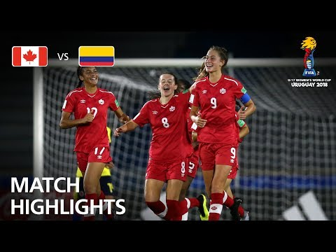 Canada v Colombia  - FIFA U-17 Women's World Cup 2018™ - Group C (видео)