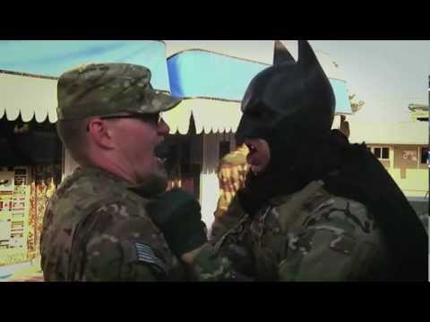 Batman Is Training Soldiers In Afghanistan