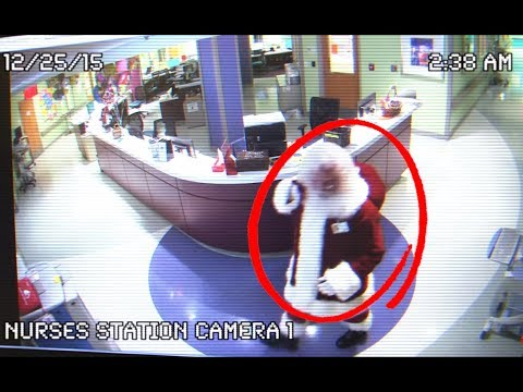 10 More Times Santa Claus was Caught on Camera!