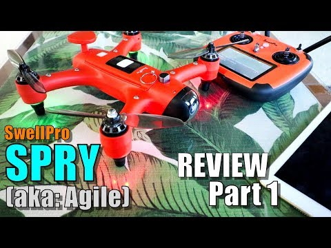SwellPro SPRY Waterproof Race Drone Review – Part 1 – Unboxing, Inspection & Setup