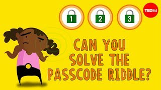 Can you solve the passcode riddle? – Ganesh Pai