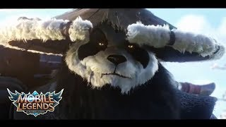 MOBILE LEGENDS MOVIE - AKAI THE PANDA WARRIOR ANIMATION
