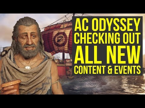 Assassin's Creed Odyssey DLC - Checking Out All The New Stuff (Weekly Reset March 26)