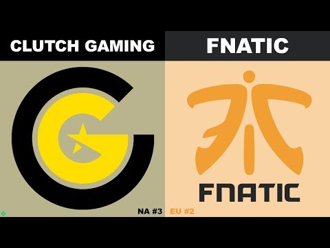 CG vs FNC - Worlds 2019 Group Stage Day 7 - Clutch Gaming vs Fnatic