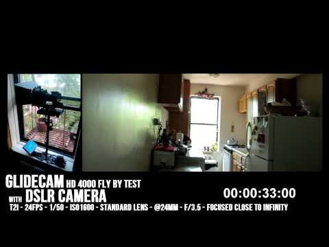 CANON T2i with GLIDECAM HD 4000 - 1080p