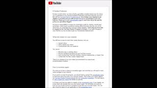 YOUTUBE ATTACKING AUDITOR CHANNELS
