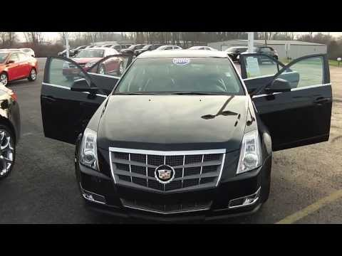 Download 2010 CADILLAC CTS Premium Sedan Black used car dealer Dayton Troy Piqua Sidney Ohio | CP13727 HD Mp4 3GP Video and MP3