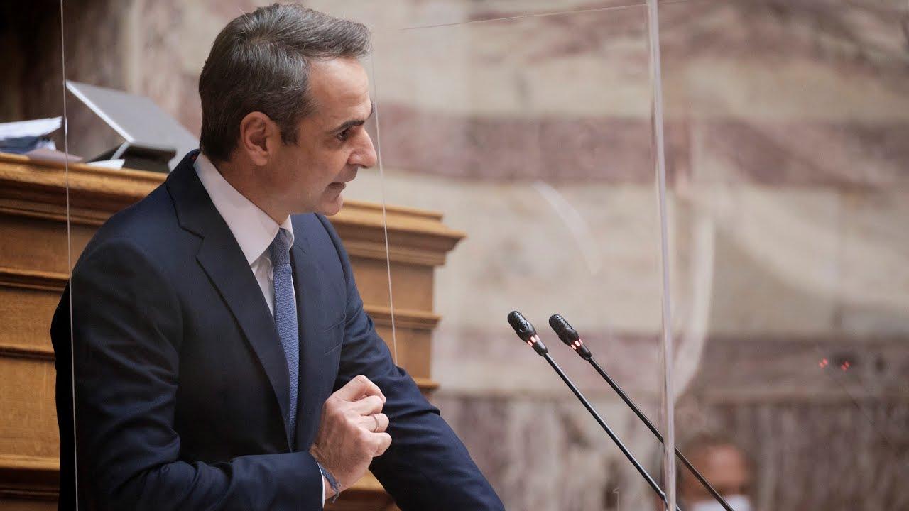Ομιλία Κ. Μητσοτάκη στη Βουλή στο νομοσχέδιο του Υπουργείου Εργασίας και Κοινωνικών Υποθέσεων