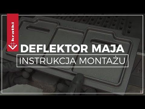 Каминная топка Kratki Maja/P/BS/Deco (угловое стекло справа) (видео)
