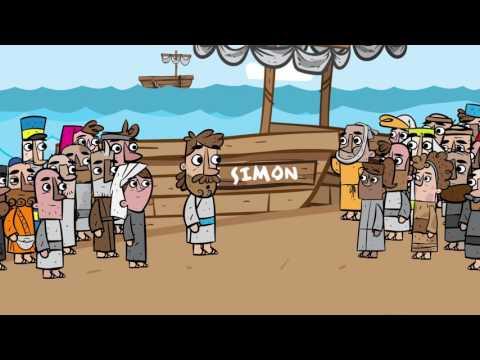 """Videoclip """"Purposes- Jesus ruft Petrus"""""""