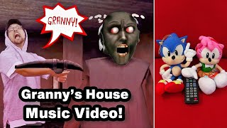 GRANNY'S HOUSE 🎵 FGTeeV Official Music Video! REACTION