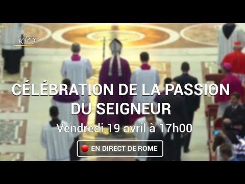 Célébration de la Passion du Seigneur à Rome